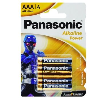 Panasonic Alkaline Power AAA 4 Battery - buy, prices for EKO Market - photo 1