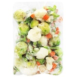 Смесь овощная Рудь 7-компонентная свежемороженая - купить, цены на ЕКО Маркет - фото 1