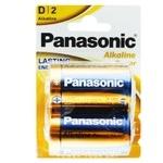 Батарейки Panasonic Alkaline Power D 2шт