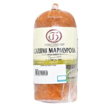 Ковбаса Богодуховский МК Салями Мраморная полукопченая