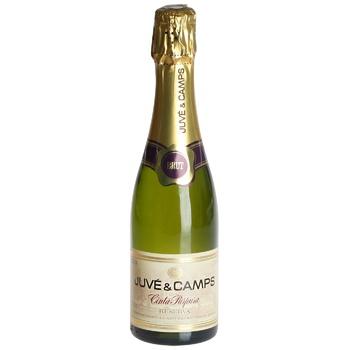 Juve&Camps Cinta Purpura Reserva Brut Sparkling White Wine 12% 375ml - buy, prices for CityMarket - photo 1