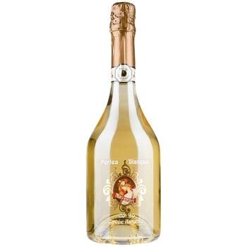 Вино игристое Naveran Perles Blanques белое брют 13% 0,75л