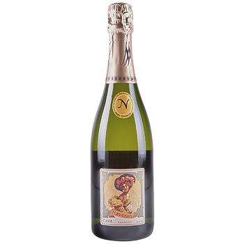 Вино игристое Naveran Brut Vintage белое брют 11,5% 0,75л