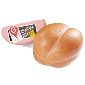 Sausage bologna Globino whole vacuum packing Ukraine