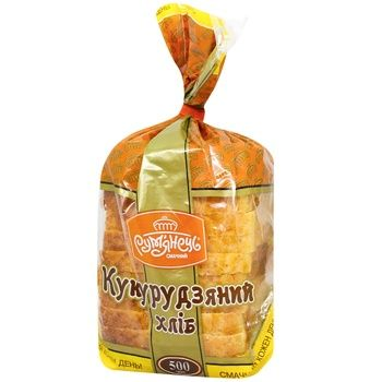 Хлеб Румянец Кукурузный 500г - купить, цены на МегаМаркет - фото 1