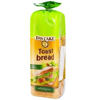Хлеб Dan Cake тостовый злаковый 500г