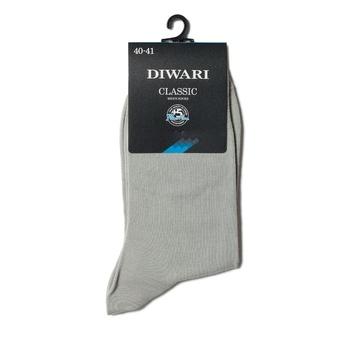 Носки мужские Diwari Classic р.23 000 серый 5С-08СП