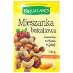 Смесь сухофруктов и орехов Bakalland 100г
