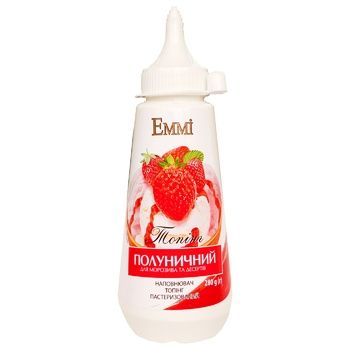 Emmi Strawberry Topping 280g - buy, prices for CityMarket - photo 1