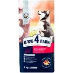 Сухой корм Club 4 Paws Премиум для щенков крупных пород со вкусом курицы 14кг