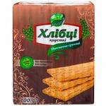 Хлібці хрусткі Galleti пшенично-гречані 100г