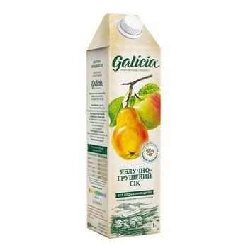 Galicia apple-pear juice 1l