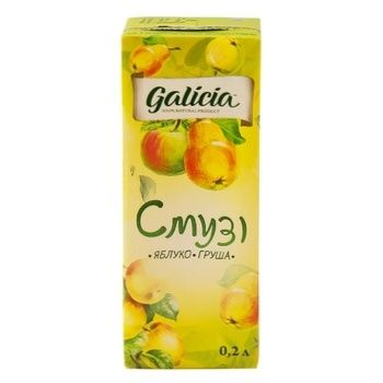 Galicia Apple-Pear smoothie 0,2l - buy, prices for Novus - photo 2