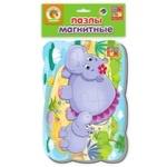 Vladi Toys Hippo Magnetic Puzzle
