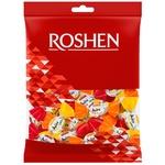 Цукерки Roshen Джус-мікс карамель з фруктово-ягідною начинкою 200г