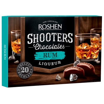Roshen Shooters with rum candy 150g - buy, prices for CityMarket - photo 1