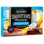 Конфеты шоколадные Roshen Shooters Pina colada 150г