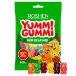 Цукерки желейні Roshen Yummi Gummi Mini Bear Mix 100г