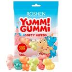 Цукерки Yummi Gummi Softy Hippos 100г