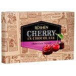 Цукерки шоколадні Roshen Вишня з шоколадним лікером 152г