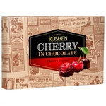 Roshen candy cherry in chocolate with cherry liqueur 155g