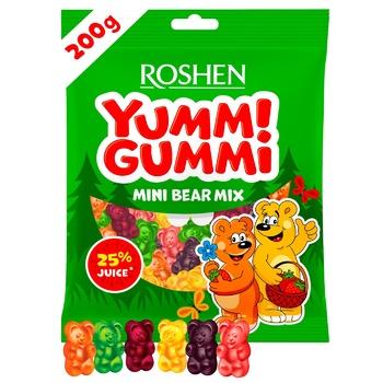 Конфеты Roshen Yummi Gummi Mini Bear Mix 200г - купить, цены на ЕКО Маркет - фото 1