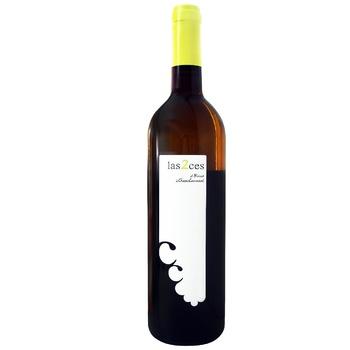 Вино Las 2 Ces Chozas белое сухое 0.75л - купить, цены на Фуршет - фото 1