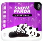 Туалетная бумага Snow Panda superior четырехслойная 4шт
