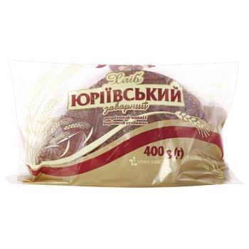 Хліб Цар Хліб Юріївський заварний половинка нарізка 400г