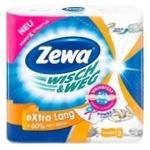 Рушники кухонні Zewa Wisch&Weg Extra Lang Design паперові 2рул