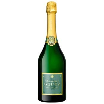 Шампанське Deutz Brut Classic біле 12% 0,75л