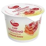 Сир плавлений Агромол з беконом 60% 100г