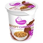Десерт творожный Агромол изюм с глазурью 9% 170г