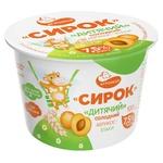 Сырок Агромол абрикос-злаки детский 7,5% 100г