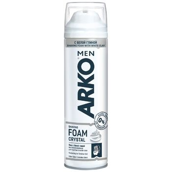Arko Crystal Shaving foam 200ml - buy, prices for Auchan - photo 1