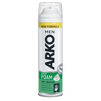 Піна для гоління Arko Men Захист від подразнення 200мл - купити, ціни на Восторг - фото 1
