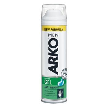 Arko Men Shaving gel Irritation protection 200ml - buy, prices for EKO Market - photo 1