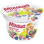 Бифидойогурт Милаша с малиной и черникой 3,2% 150г