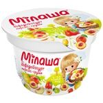 Біфідойогурт Мілаша з персиком та грушею 3,2% 150г