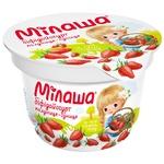 Бифидойогурт Милаша с клубникой и земляникой 3,2% 150г