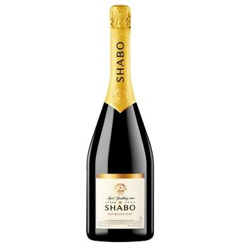 Вино ігристе Shabo Classic біле напівсухе 10.5-13.5% 0,75л