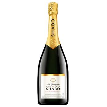 Вино игристое Shabo Classic белое полусладкое 10.5-13.5% 0,75л