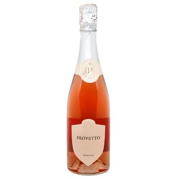 Provetto Sparkling wine rose dry 10,5% 0,75l