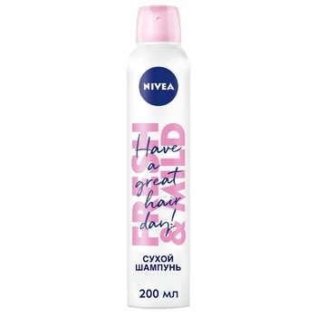 Nivea 3in1 Fresh Revive Dry Shampoo 200ml - buy, prices for CityMarket - photo 1