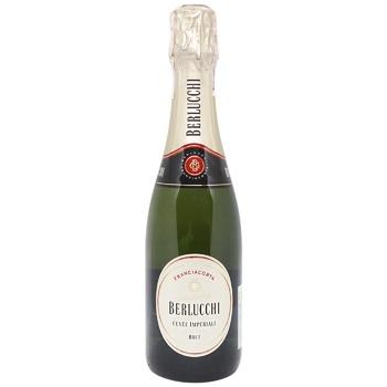 Вино Guido Berlucchi Cuvee Imperiale Brut біле ігристе брют 13% 0,375л - купити, ціни на CітіМаркет - фото 1