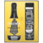 Sandeman Imperial Jerez Brandy 40% 0,7l + 2 glasses