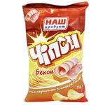 Nash Produkt Bacon Flavored Potato Chips 70g