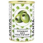 Оливки Santarrita без кісточки 280мл