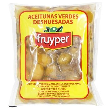 Оливки Fruyper зелені без кісточки 150мл - купити, ціни на CітіМаркет - фото 1
