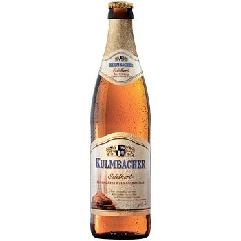 Пиво Kulmbacher Lager светлое 4,9% 0,5л - купить, цены на СитиМаркет - фото 1